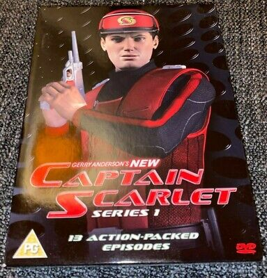 New Captain Scarlet DVD Boxset The Complete First Series 1 (2005, 4-Disc Set)ITV • 6.99£
