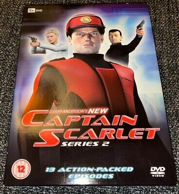 New Captain Scarlet DVD Boxset The Complete Second Series 2 (2006, 4-Disc Set) • 8.99£
