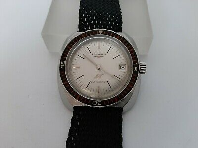 £718.54 • Buy LONGINES ULTRA-CHRON Automatic Diver - Ref 7970-5- Cal 431 - Big Size 42 Mm !!!
