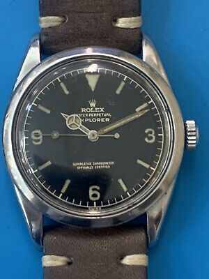 $ CDN22053.90 • Buy Rolex Explorer Rare Vintage Ref 1016 Gilt Dial Extremely Iconic (497)