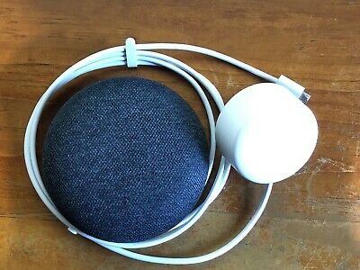 AU37 • Buy Google Home Mini Smart Assistant Speaker - Charcoal H0A Like New, Barely Used