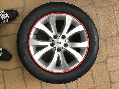 "AU120 • Buy 17""Ford G6E Original Factory Wheel And Brand New Tyre.includes 1pk Of Rimblades."