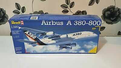 Revell 1/144 Passenger Plane Airbus A380-800 Great Condition All Sealed Parts • 49£