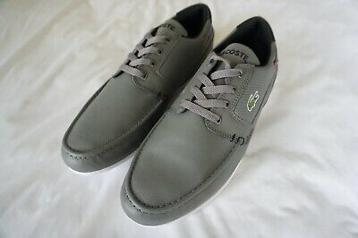Lacoste Sport Mens Casual Shoes (12) Dreyfus Q81 Grey With Croc 268pm42002f4 • 49.65£