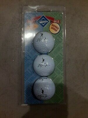 $1300 • Buy Michael Jordan UNOPENED Replica Signature Golf Balls