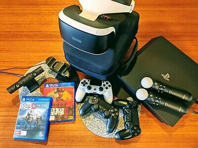 AU495 • Buy PS4 THE WORKS! - Sony PS4 Pro 1TB Console, VR Headset, Camera And MORE!