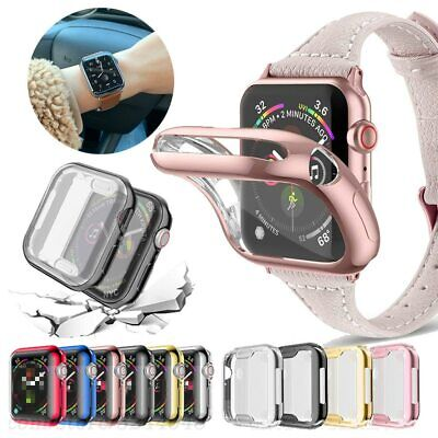 $ CDN3.98 • Buy Full Cover Case For Apple Watch Series 6 5 4 3 21 Screen Protector 44/40/42/38mm