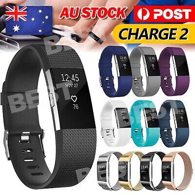 AU4.45 • Buy For Fitbit Charge 2 Bands Various Replacement Wristband Watch Strap Bracelet