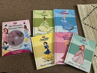 Disney 5 Read-along Stories With CD • 5£