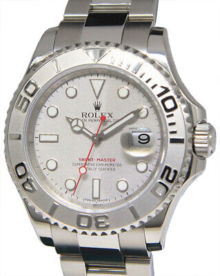 $ CDN12002.34 • Buy Rolex Yacht-Master SS & Platinum Mens 40mm Automatic Watch Box/ Papers M 16622