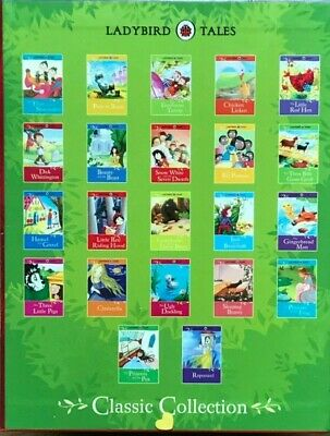 Ladybird Tales Classic Collection 22 Books Box Set Childrens Book Pack (New) • 28.49£