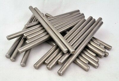 6mm X 100mm 304 Stainless Rod For Handle Making Knife Scales Pins Bushcraft • 4.08£