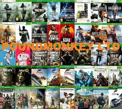 Xbox One Games Buy 1 Or Bundle Up MINT Same Day Dispatch Via Super Fast Delivery • 14.99£