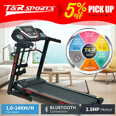 AU799.99 • Buy JMQ Fitness 9006 Electric Treadmill 2.5HP Auto Incline Home Gym Exercise Machine