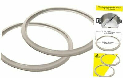 10 Inch Fagor Pressure Cooker Replacement Gasket (Pack Of 2) - Fits Many 10 Inch • 14.44£