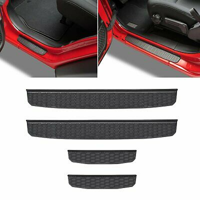 AU35.95 • Buy 4 Door Sill Guards Entry Plate Cover For 2018-2020 Jeep Wrangler JL Accessories
