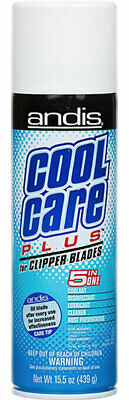 £17.84 • Buy Andis Cool Care Plus Cleaner Spray For Clipper Blades Trimmer 5 In 1 Coolant