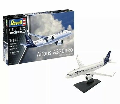 £17.99 • Buy REVELL Airbus A320neo Lufthansa  New Livery  1:144 Aircraft Kit 03942