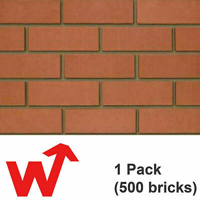 £289.95 • Buy Class B Red Engineering Brick |  IBSTOCK  | 65mm | Perforated | 500 Value Pack