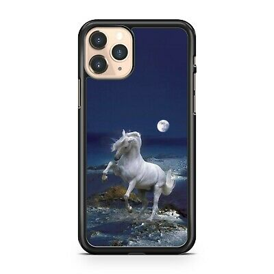 $11.10 • Buy Majestic White Horse Animal Full Moon Colourful Scenery Cool Phone Case Cover
