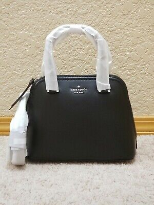 $ CDN112.58 • Buy ❤️NWT Kate Spade Patterson Drive Small Dome Crossbody Leather Satchel Bag Black