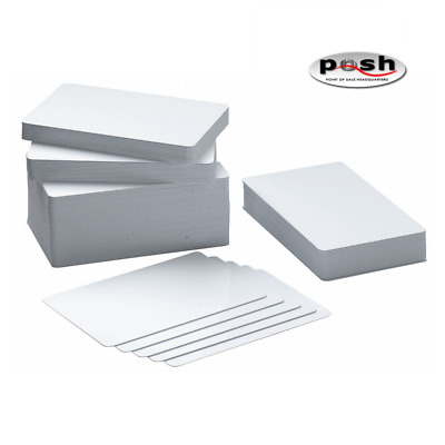 £72.43 • Buy CR80 30 Mil Graphic Quality PVC Cards - 500 Cards Per Lot- For ZXP Series 3