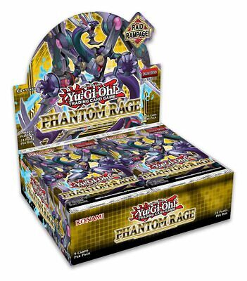 Yu-Gi-Oh! Phantom Rage 1st Edition Sealed Booster Box Of 24 Packs • 57.99£