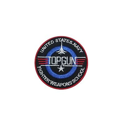 £2.29 • Buy Top Gun, Superhero,Marvel Character Logo,Iron On Patch,Sew On Badge,Embroidered
