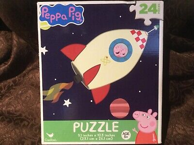 New Peppa Pig 24 Piece Puzzle...Peppa In A Space Ship! • 3.61£