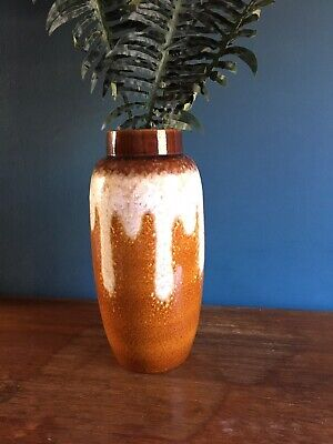 West German Vintage Scheurich Floor Vase 553-38 • 60£