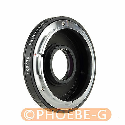 CANON FD Lens To EOS EF Body Mount Adapter 650D 550D 1000D 500D • 16.25£