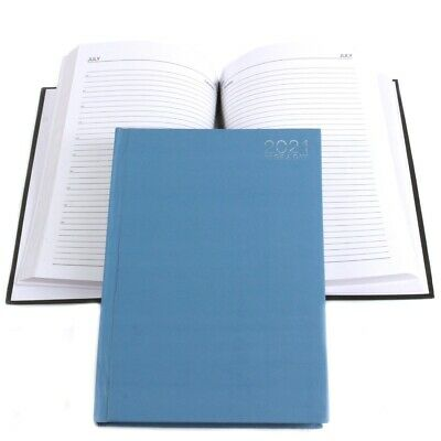 PAGE A DAY 2021 DIARY Student Office Desk Index Planner Daily Journal Notebook • 4.98£