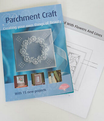 Parchment Craft Pergamano Book W/15 Projects: Creating Your Own Things Of Beauty • 8.99£