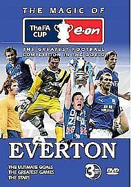 £2.49 • Buy Everton - The Magic Of The FA Cup (DVD, 2008, 3-Disc Set) Read Below B4 Buying