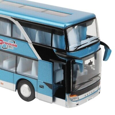 $ CDN31.21 • Buy Electric 1:50 Alloy Double-decker Bus Model Toy With Light Music For Children K