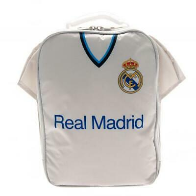 £11.99 • Buy Official REAL MADRID FC Kit Lunch BAG School Office Travel Gift