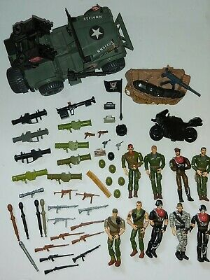 $ CDN100.56 • Buy 1994 GI Joe Sgt Savage Lot Of Figures, Accessories And Vehicles - Grizzly Jeep