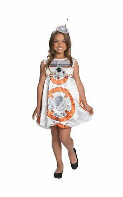 £10.99 • Buy Girl's BB8 Costume Kids Star Wars Disney Fancy Dress Outfit Childs Outfit