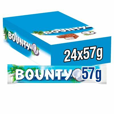 Bounty Coconut Milk Chocolate Duo Bar 57g PM 60p Christmas Party Cheapest • 12.99£