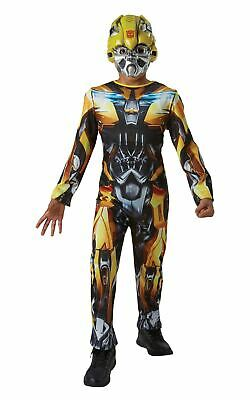 Bumble Bee Transformers Boys Fancy Dress Costume Outfit Licensed Film Dressup • 21.99£