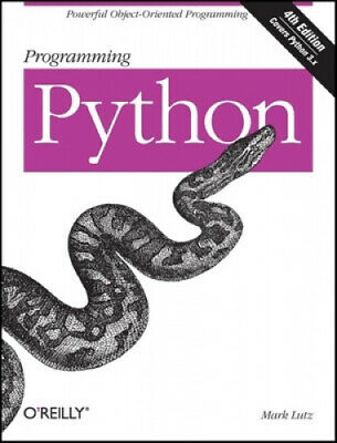 AU105 • Buy Programming Python: Powerful Object-Oriented Programming By Mark Lutz