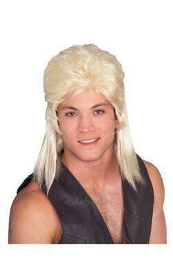 £13.99 • Buy SALE! Adult 80s Hill Billy Blonde Mullet Wig Fancy Dress Costume Party Accessory