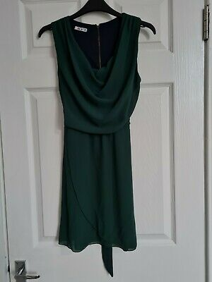 £8 • Buy Wal G Green Cowl Neck Dress. Size S