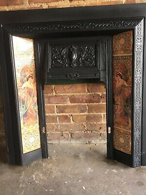 Victorian Style Cast Iron Fireplace   • 315£