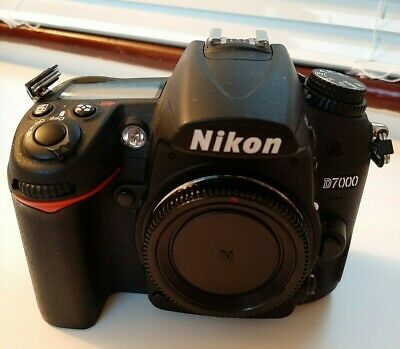 NIKON D7000 16.2MP DSLR - Body Only - Only 6000 Actuations, A1 Condition. • 239£