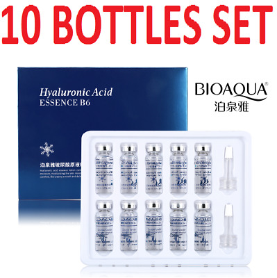 Hyaluronic Acid, Strong Anti Wrinkle Serum 100% Natural Pure Firming Collagen UK • 14.99£
