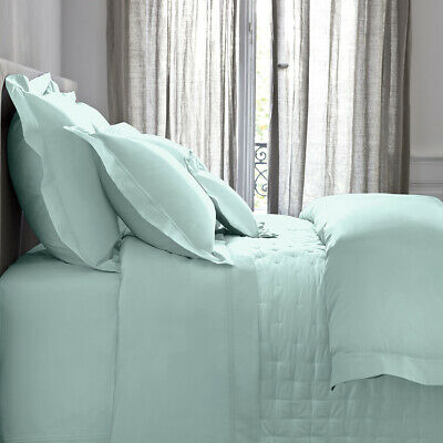 Yves Delorme | Triomphe Celadon Collection 100% Cotton Sateen 300tc 60% Off Rrp • 93.24£