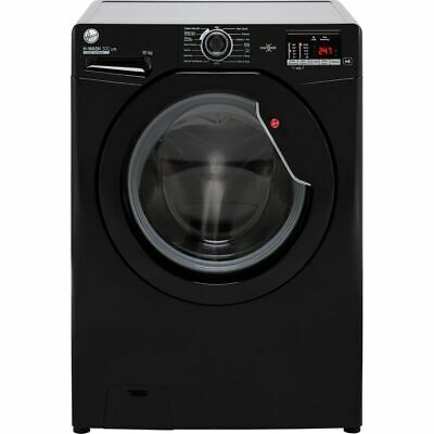 View Details Hoover H3W4102DBBE H-WASH 300 10Kg 1400 RPM Washing Machine Black E Rated New • 318.00£