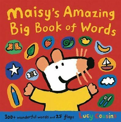 $4.16 • Buy Maisy's Amazing Big Book Of Words By Cousins, Lucy , Hardcover