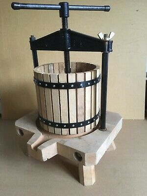 French  Press 8 Litre Cast Iron Beam Press For Apple Pear Juice Cider Fruit. New • 250£